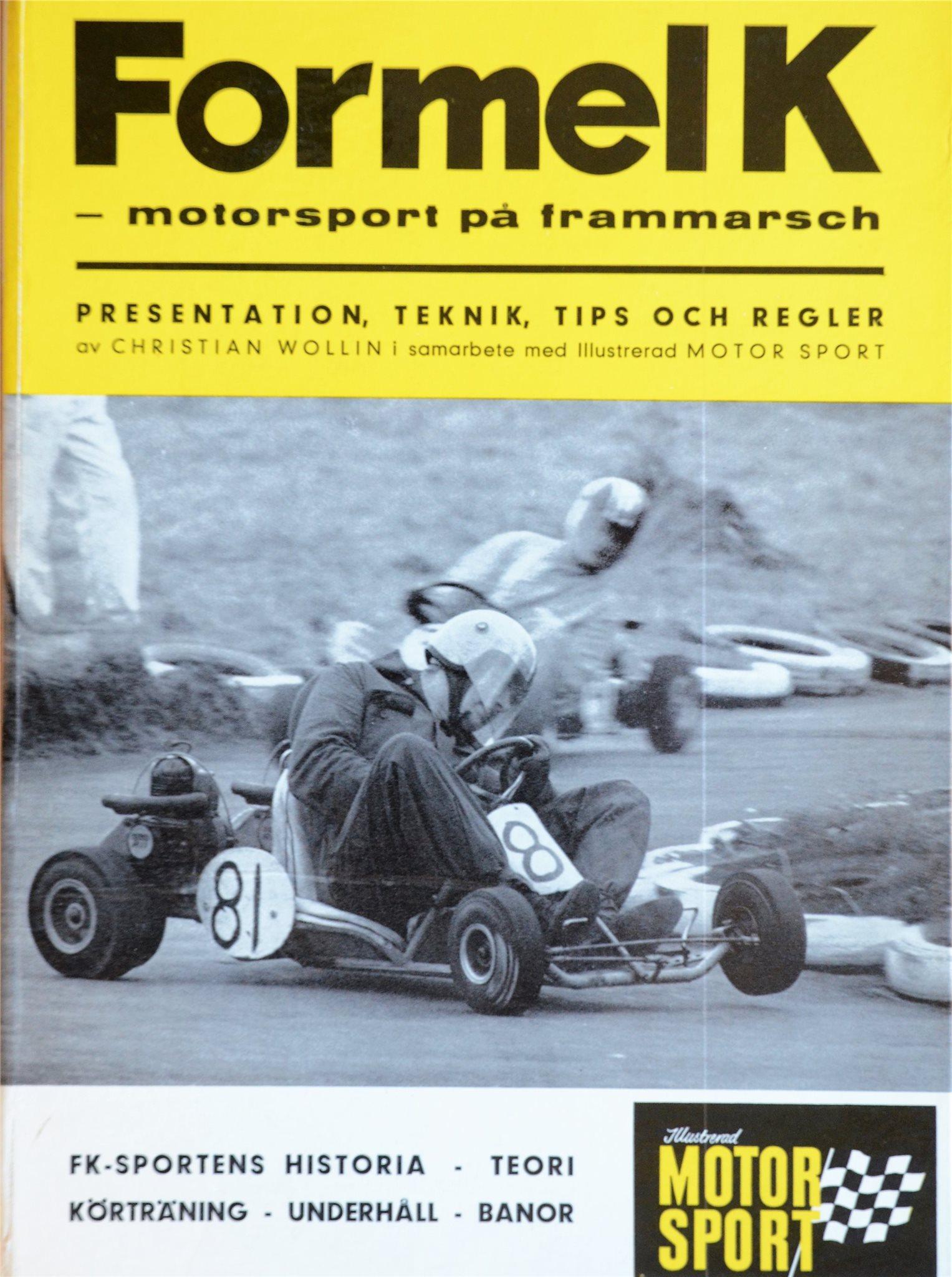 Ronnie Peterson kör gokart, f'låt Formel K
