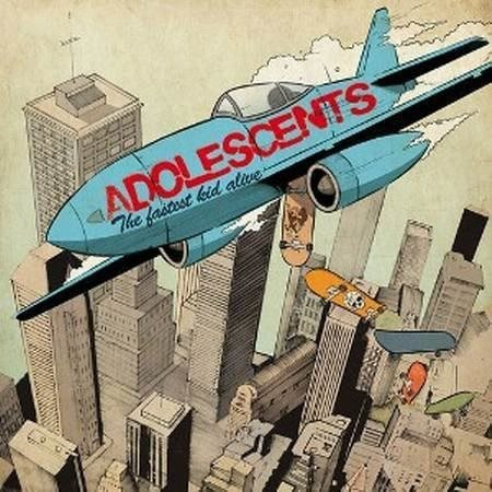 Adolescents - The Fastest Kid Alive - CD NY