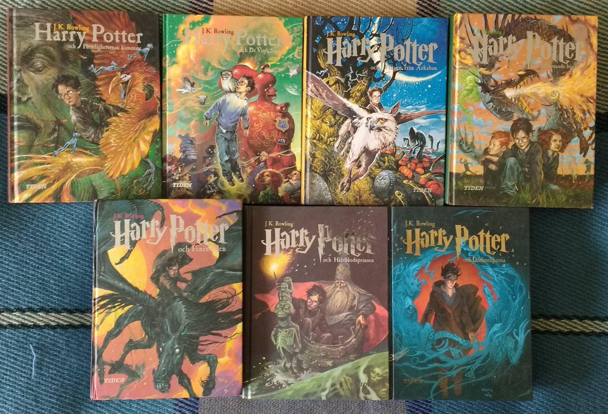 harry potter serien