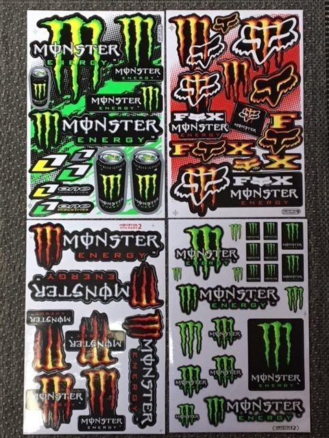 Monster dekaler klistermärken 4 st ark (331435196) ᐈ Köp på Tradera 99d506f7ae320