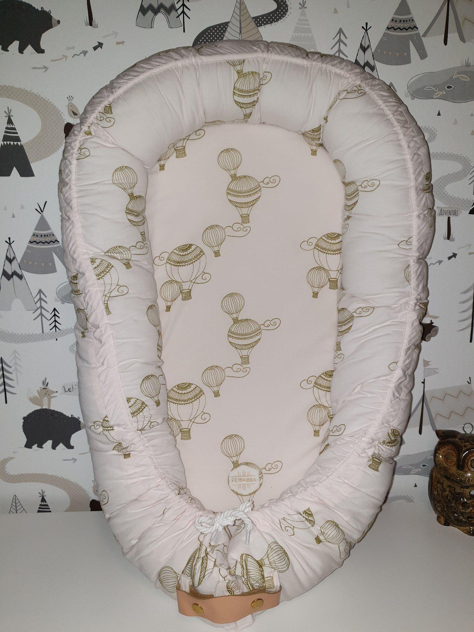 Rosa Babynest Från Filibabba 341305097 ᐈ Köp På Tradera