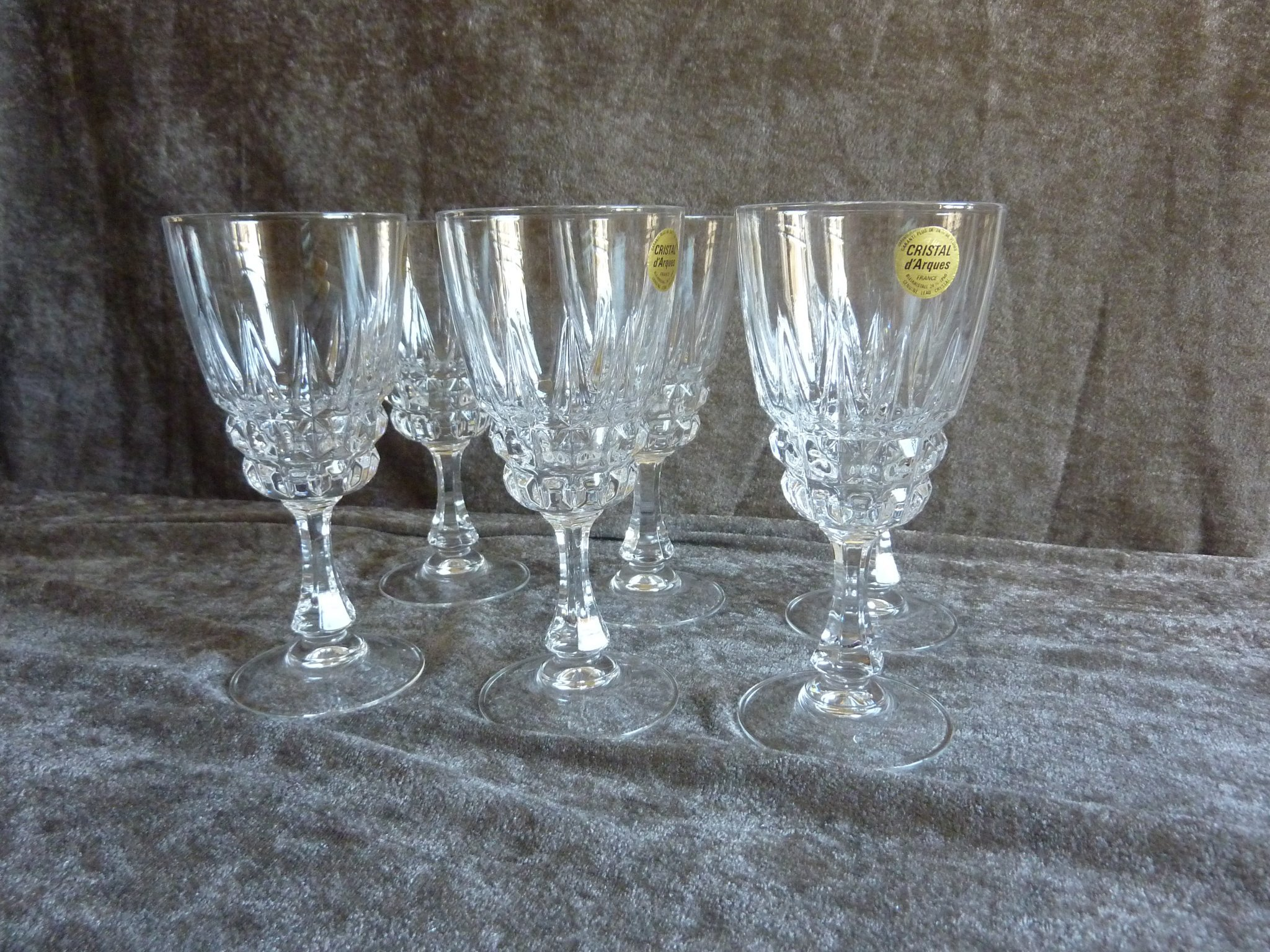 Cristal D'Arques Pompadour Vinglas kristall 6 st (391813003