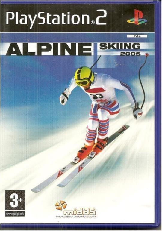 ALPINE SKIING 2005 (PS2 SPEL)