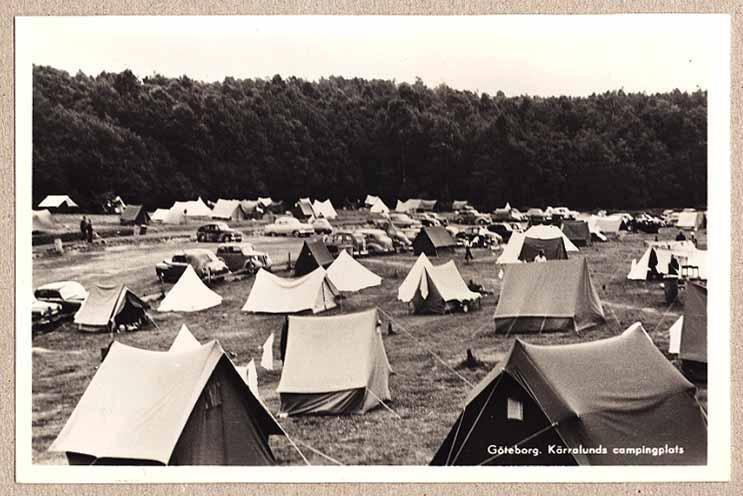 Helt nya KÄRRALUNDS campingplats, tält och bil.. (299006572) ᐈ novastamps WS-84
