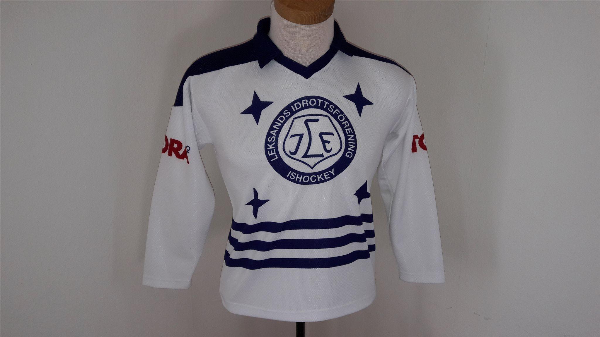 Blåvit vintage Leksands matchtröja ho.. (324192804) ᐈ ...