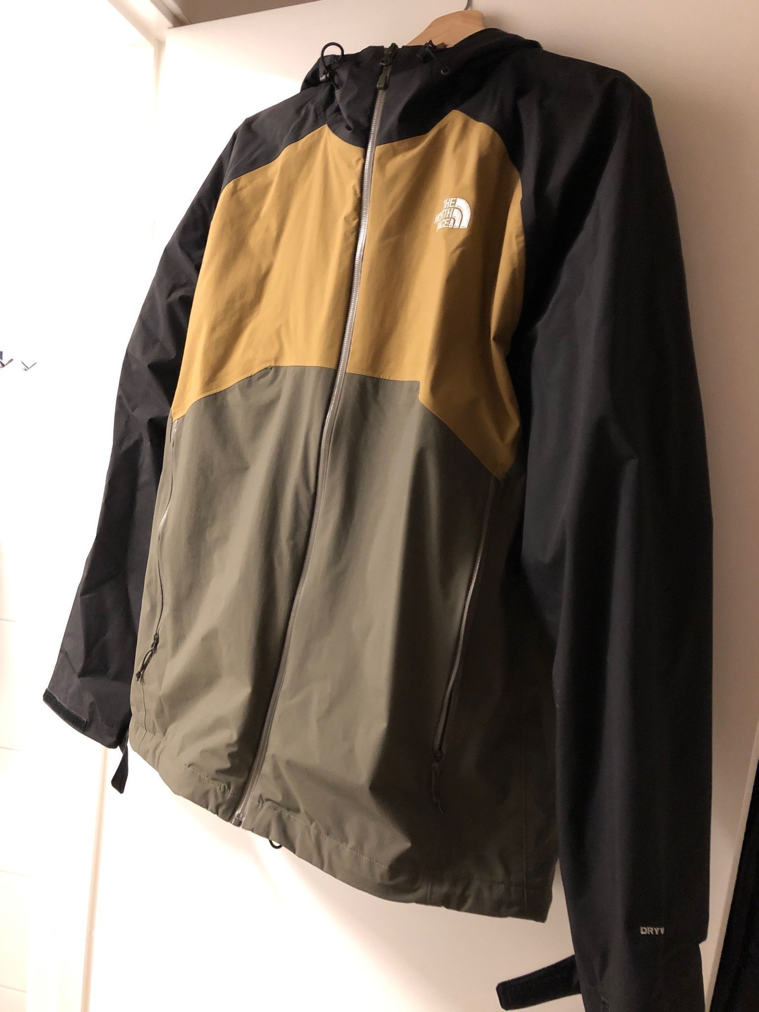 The north face regnjacka som ny Large