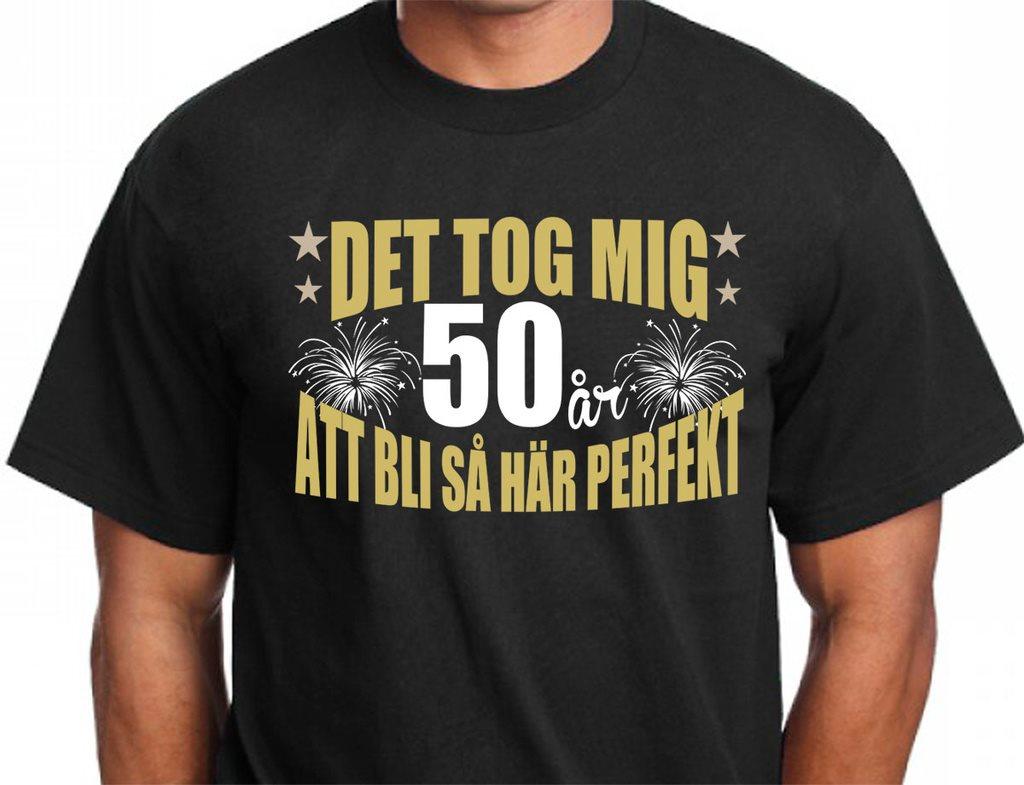t shirt 50 år Födelsedag T shirt   Det tog 50 år att.. (304533695) ᐈ CreamTees  t shirt 50 år