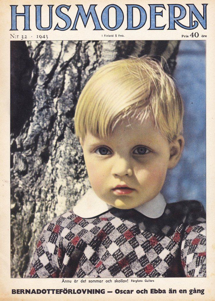 Husmodern 1943-32 Sven Erixson X:Et..Per Albin..O Bernadotte