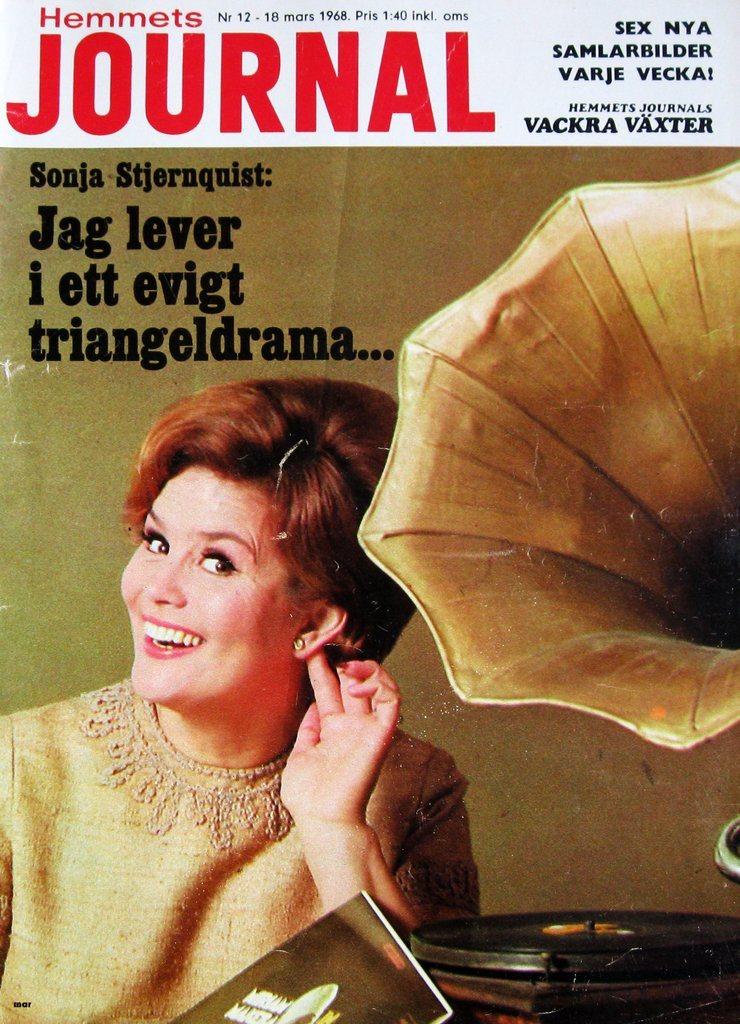 H-J 1968-12 Orrefors Orrefors Orrefors Glas Glasbruk Småland.Sonja Stjernquist eeb3c6