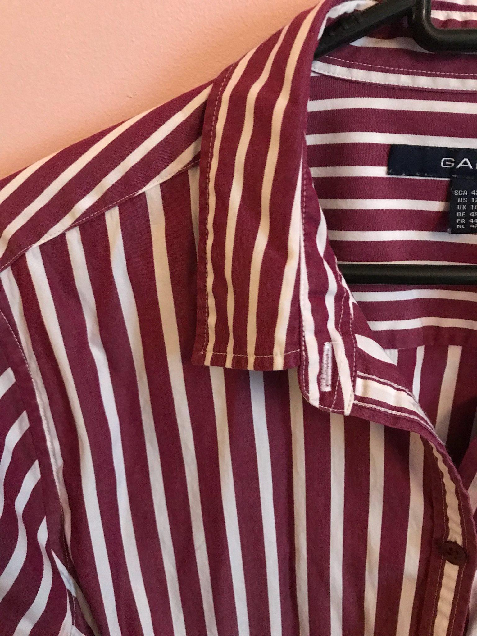 Randig skjorta Gant stl. 42 (321618889) ᐈ Köp på Tradera 30cd973d5a200