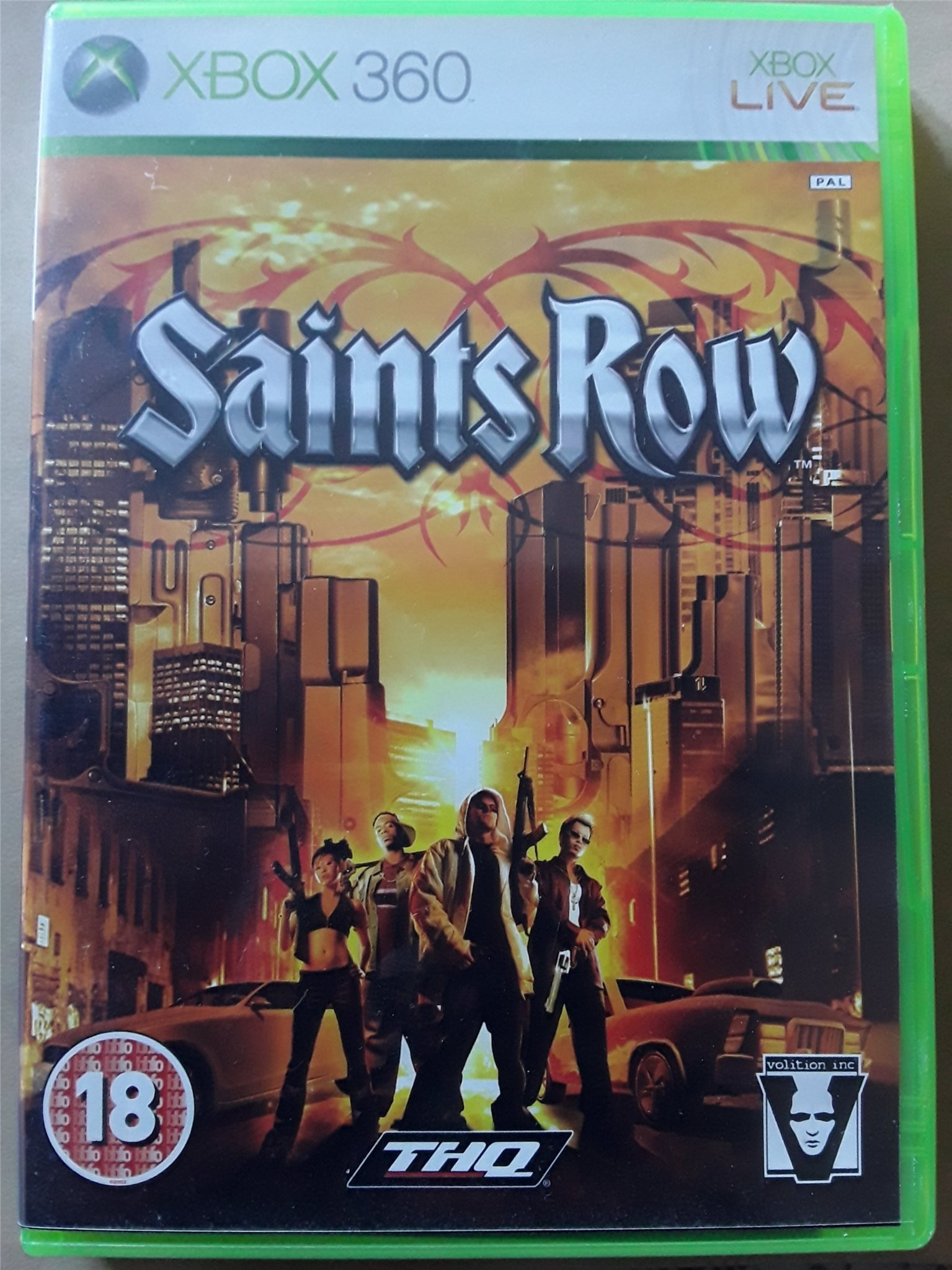 Saints Row Spel