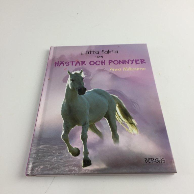 fakta om hästar och ponnyer