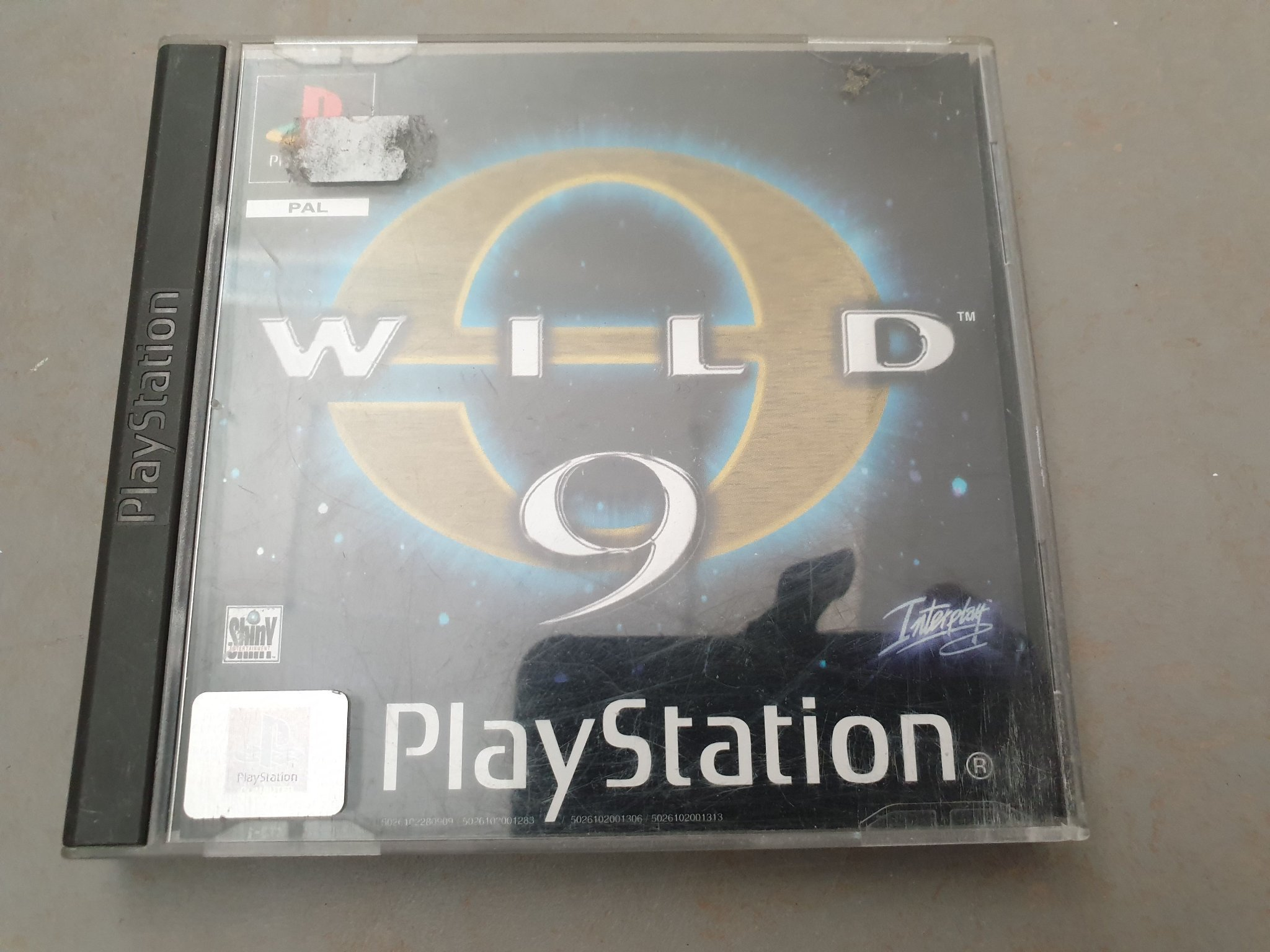 Wild 9 PS1 PSone Playstation 1
