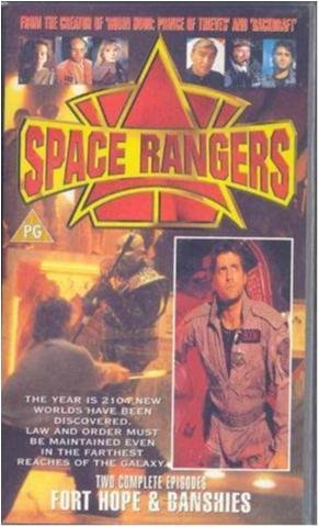 Space Rangers - Fort Hope/Banshies - Ej text- Vhs