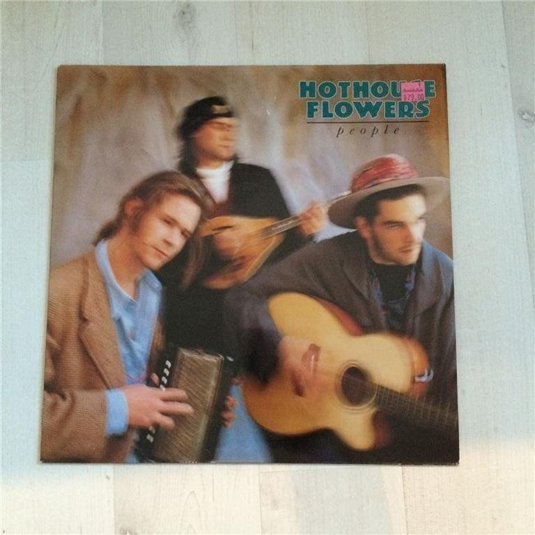 HOTHOUSE FLOWERS - PEOPLE. (NEAR MINT LP)