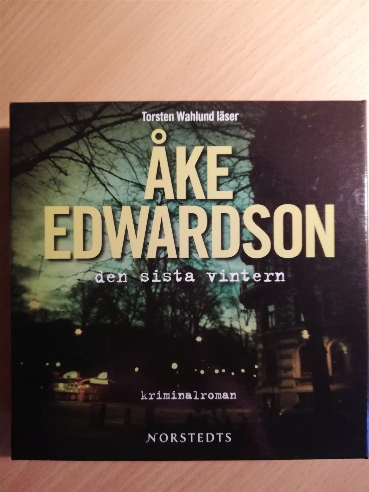 f1f45b7cb40 Åke Edwardson - Den sista vintern (349492918) ᐈ Köp på Tradera