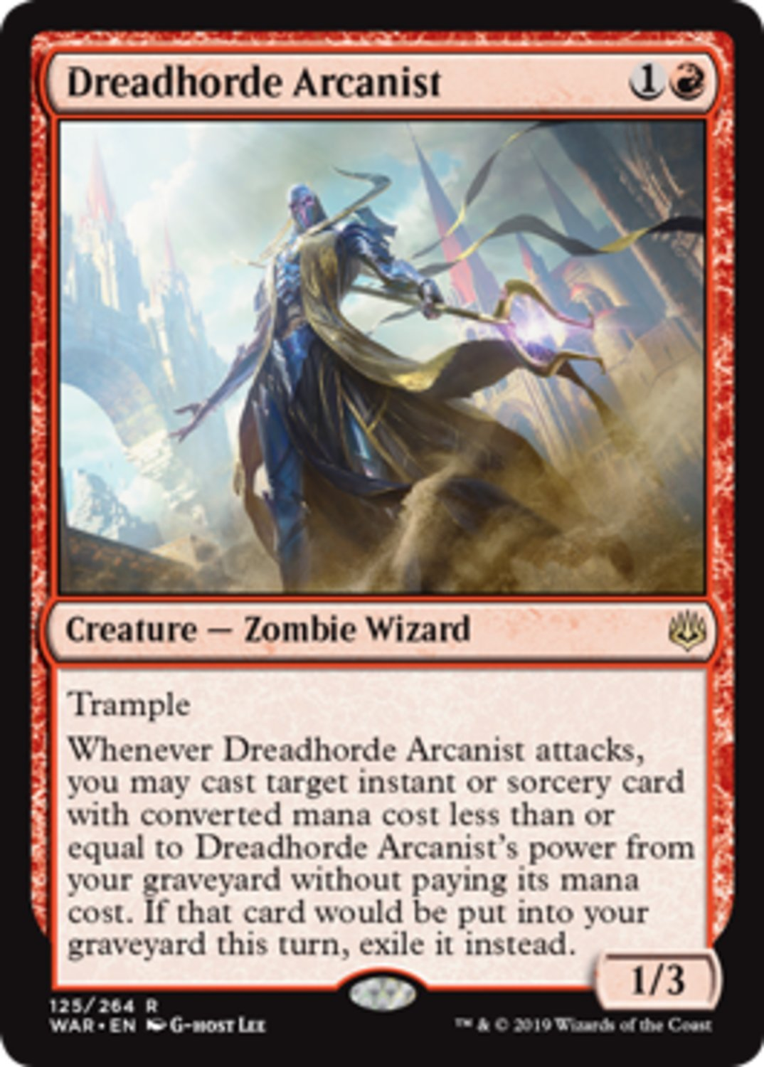 Dreadhorde Arcanist - Magic The Gathering