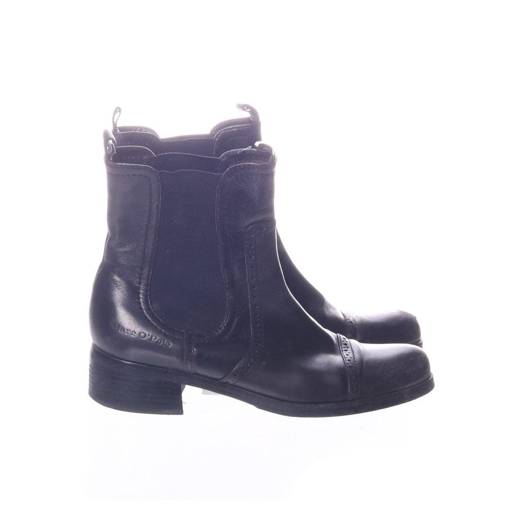 Marc O'Polo, Boots, Strl: 37, Svart, Skinn (360942571) ᐈ