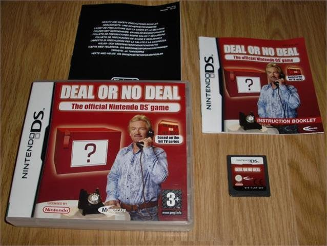 DS: Deal or no Deal