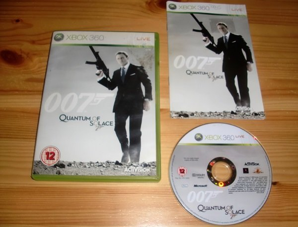 Xbox 360: 007 Quantum of Solace