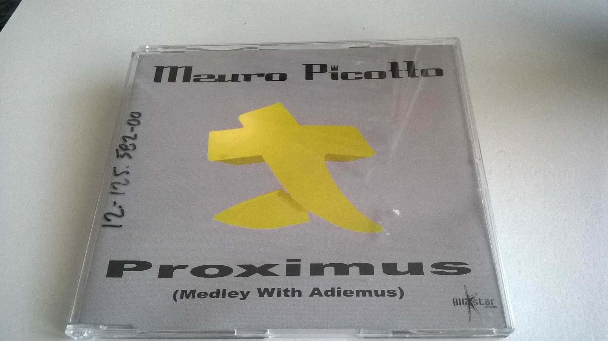 Mauro Picotto ?- Proximus (Medley With Adiemus), CD, Single