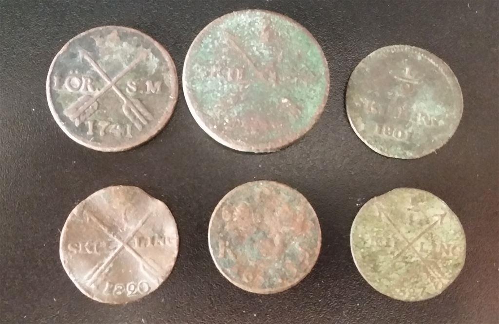 äldre mynt