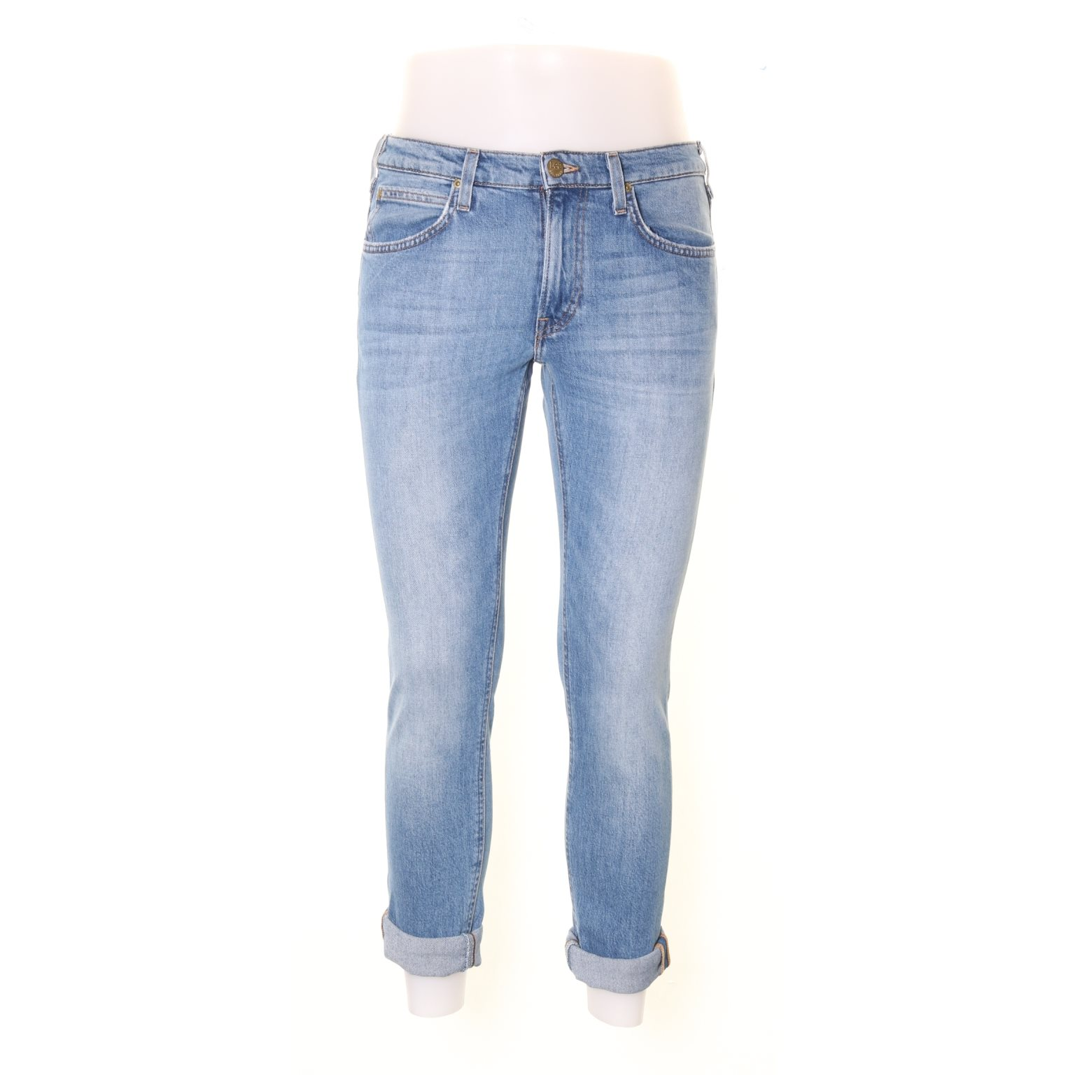 Lee, Jeans, Strl: 29/32, Luke, Ljusblå