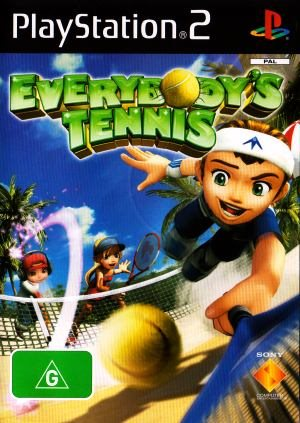PS2 - Everybodys Tennis (Beg)