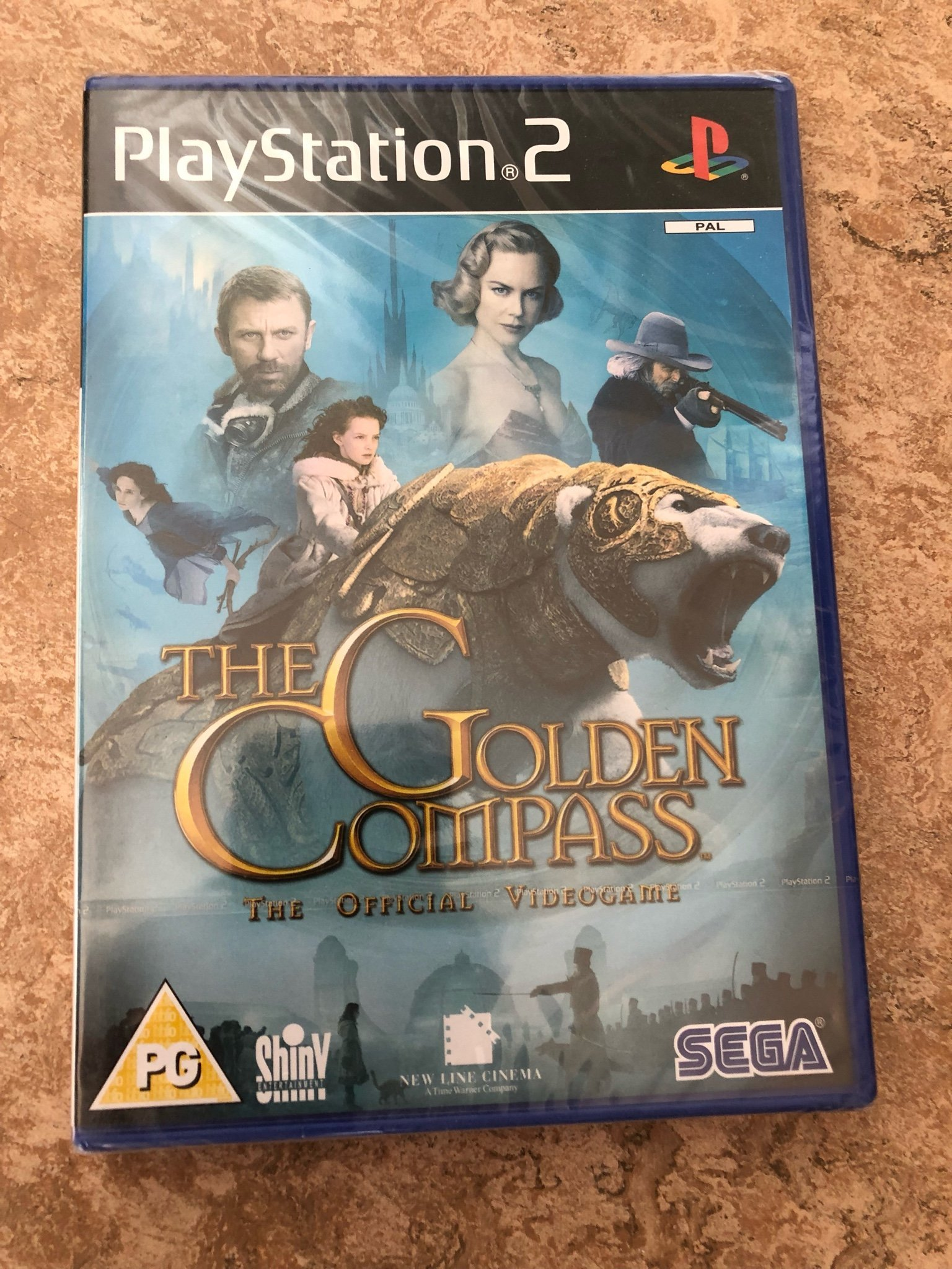PS 2 spel - The Golden Compass