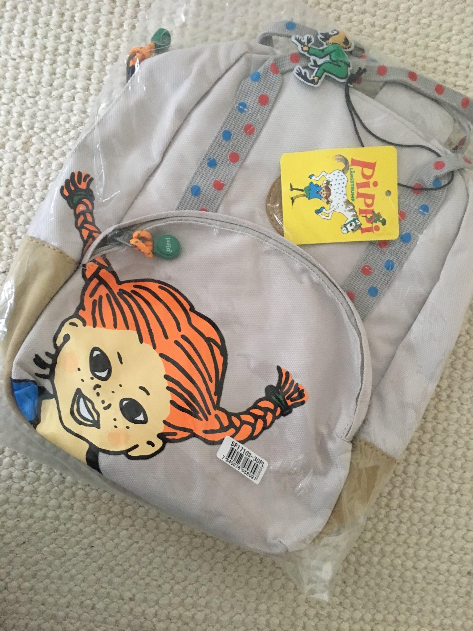 Ny ryggsäck väska backpack Pippi Långstrump (330451237) ᐈ Köp på ... f31f80b0a0f10