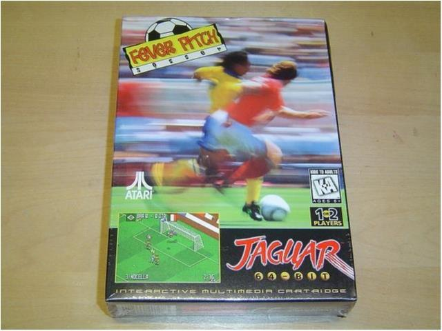 Fever Pitch Soccer Atari Jaguar *NYTT*