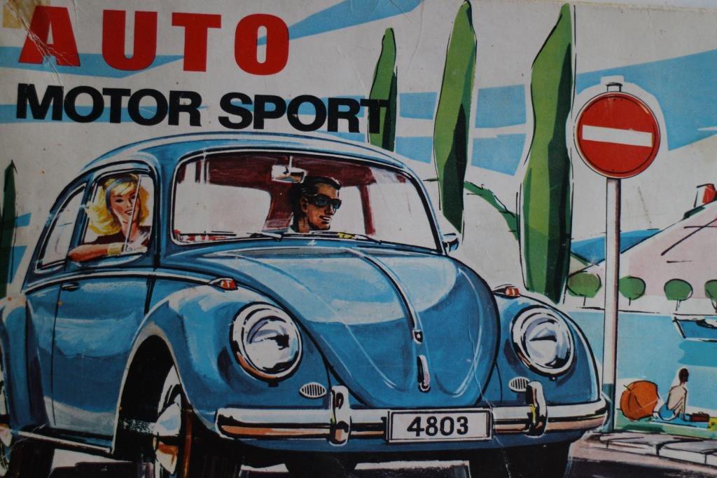 Faller Auto Motor Sport 4000 - VW Volkswagen sats