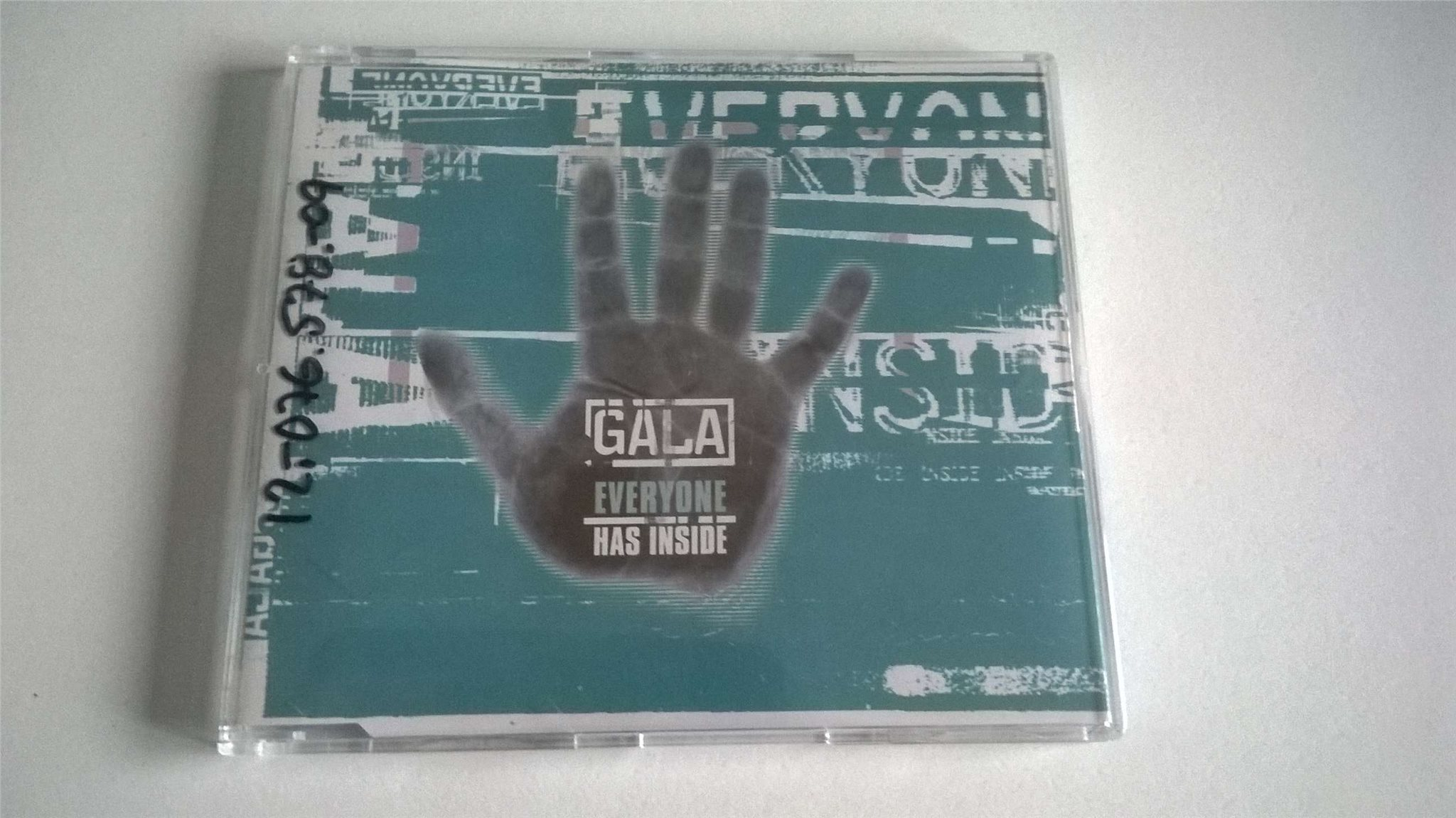 Gala ?- Everyone Has Inside , CD