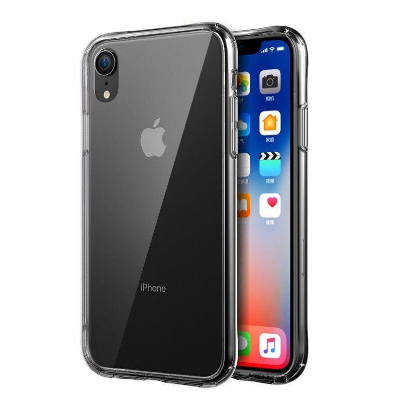 NY Transparent Silikon TPU-Skal till iPhone XR (338720268) ᐈ Köp på ... ef3ae9a459c45