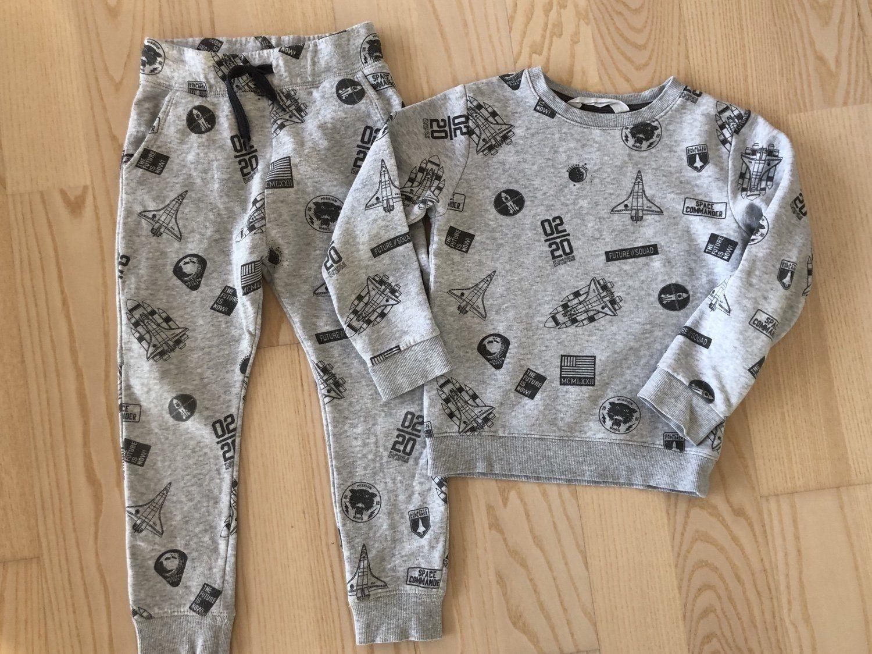 Tröja och byxor mjukis HM, fint skick! (343609060) ᐈ Köp på