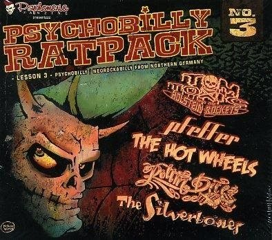 Psychobilly Rat Pack - Lession 3 - CD