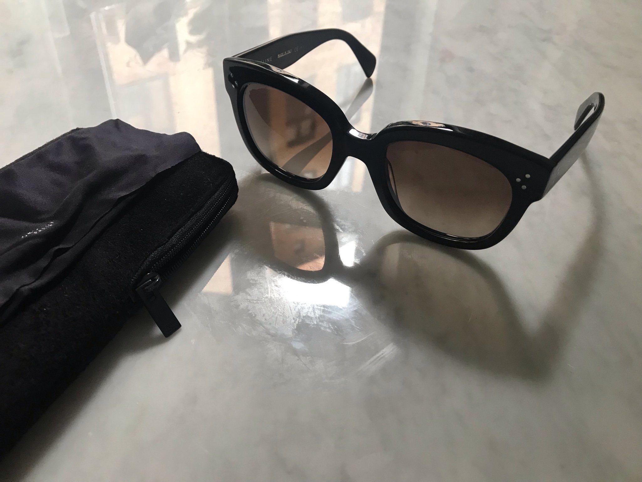 36406f2169d Celine solglasögon svarta (342231046) ᐈ Köp på Tradera