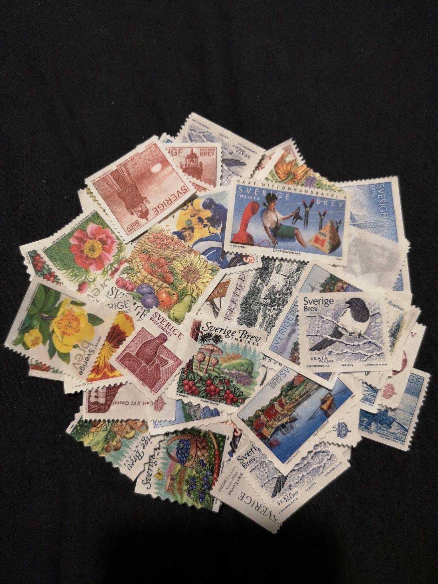 Valörlösa frimärken fyndpris ug (471106189) köp på tradera