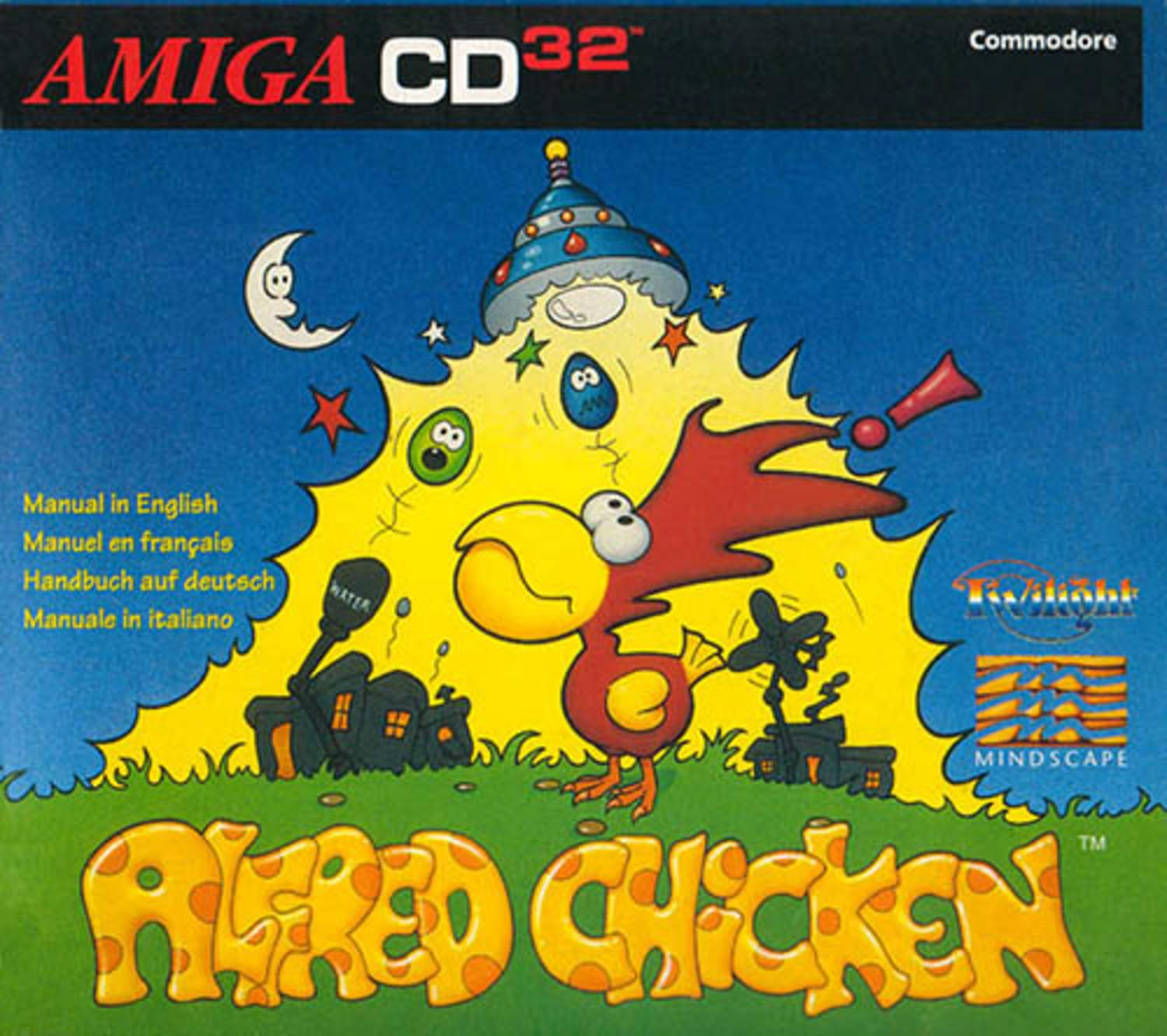 Alfred Chicken - Amiga CD32