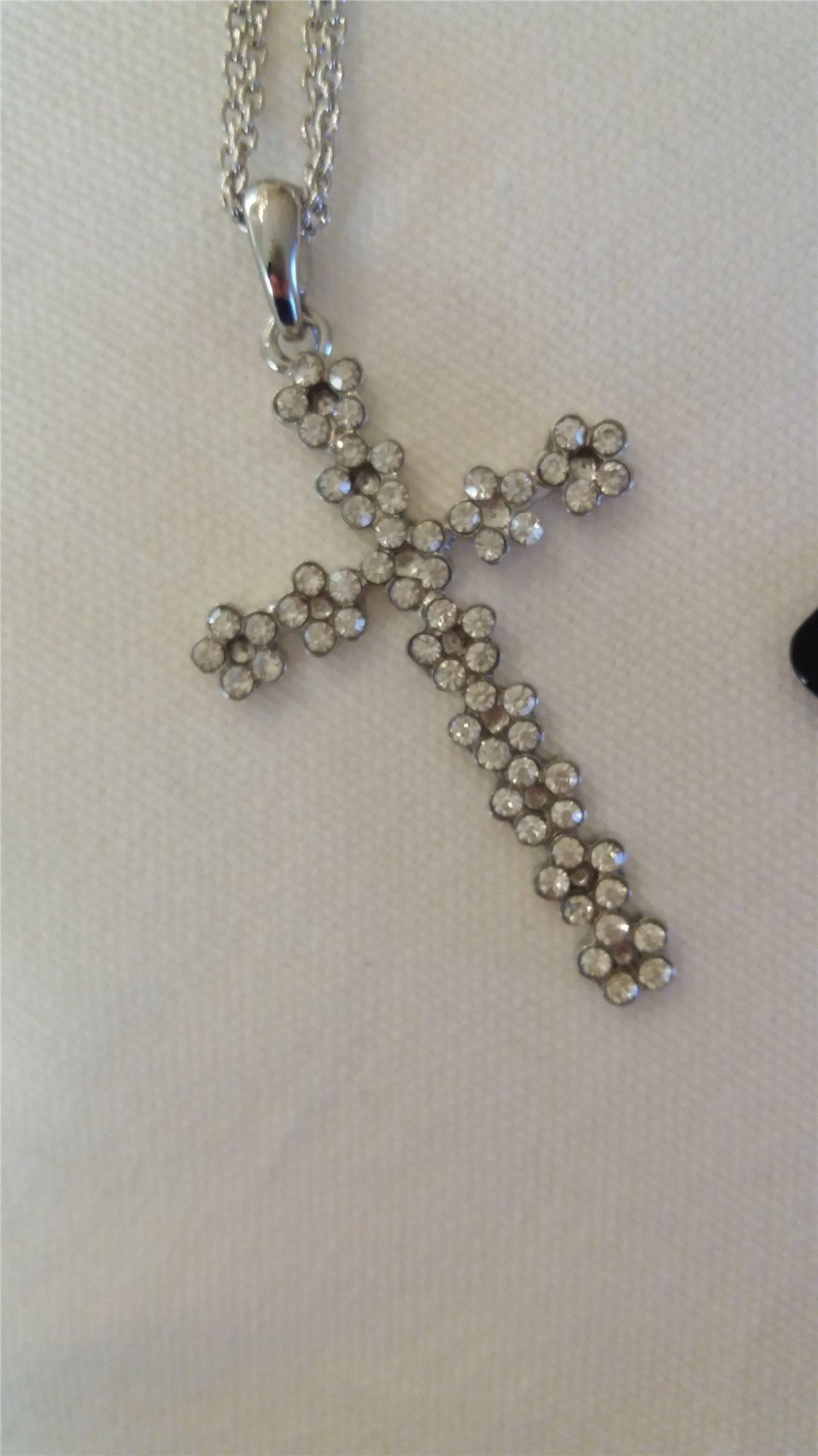 kors halsband glitter