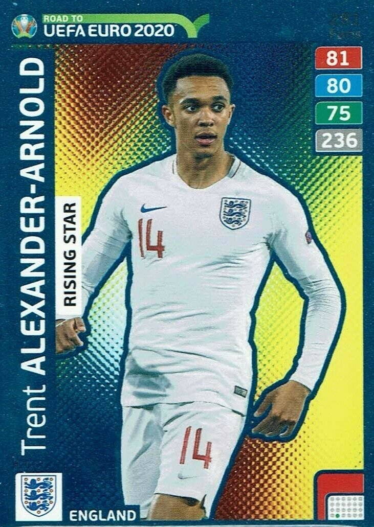 Panini Adrenalyn Road to 2020, ALEXANDER-ARNOLD Rising Star