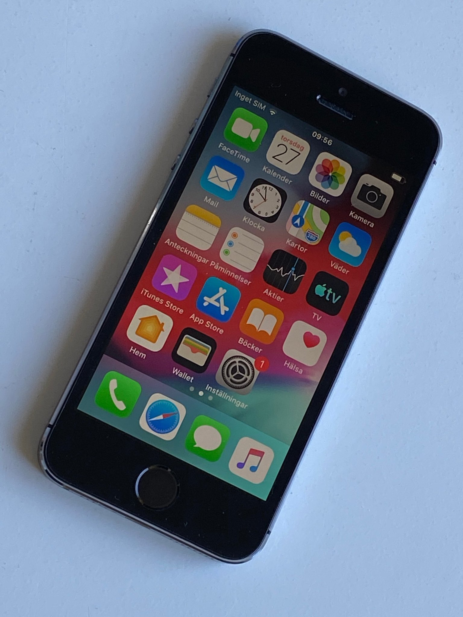 iPhone 5S Rymdgrå 16GB Olåst