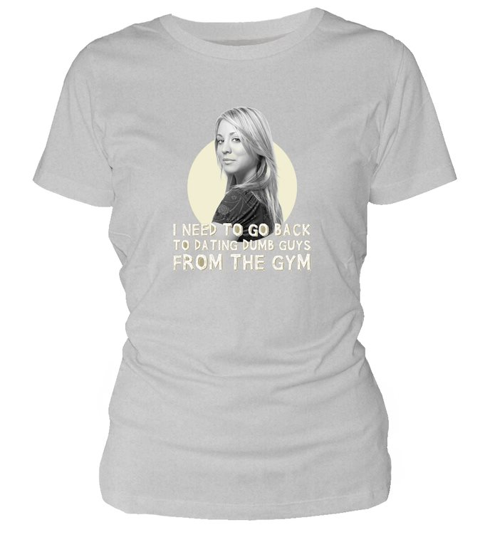BIG BANG THEORY PENNY FROM THE GYM WOMAN'S  T-SHIRT Large