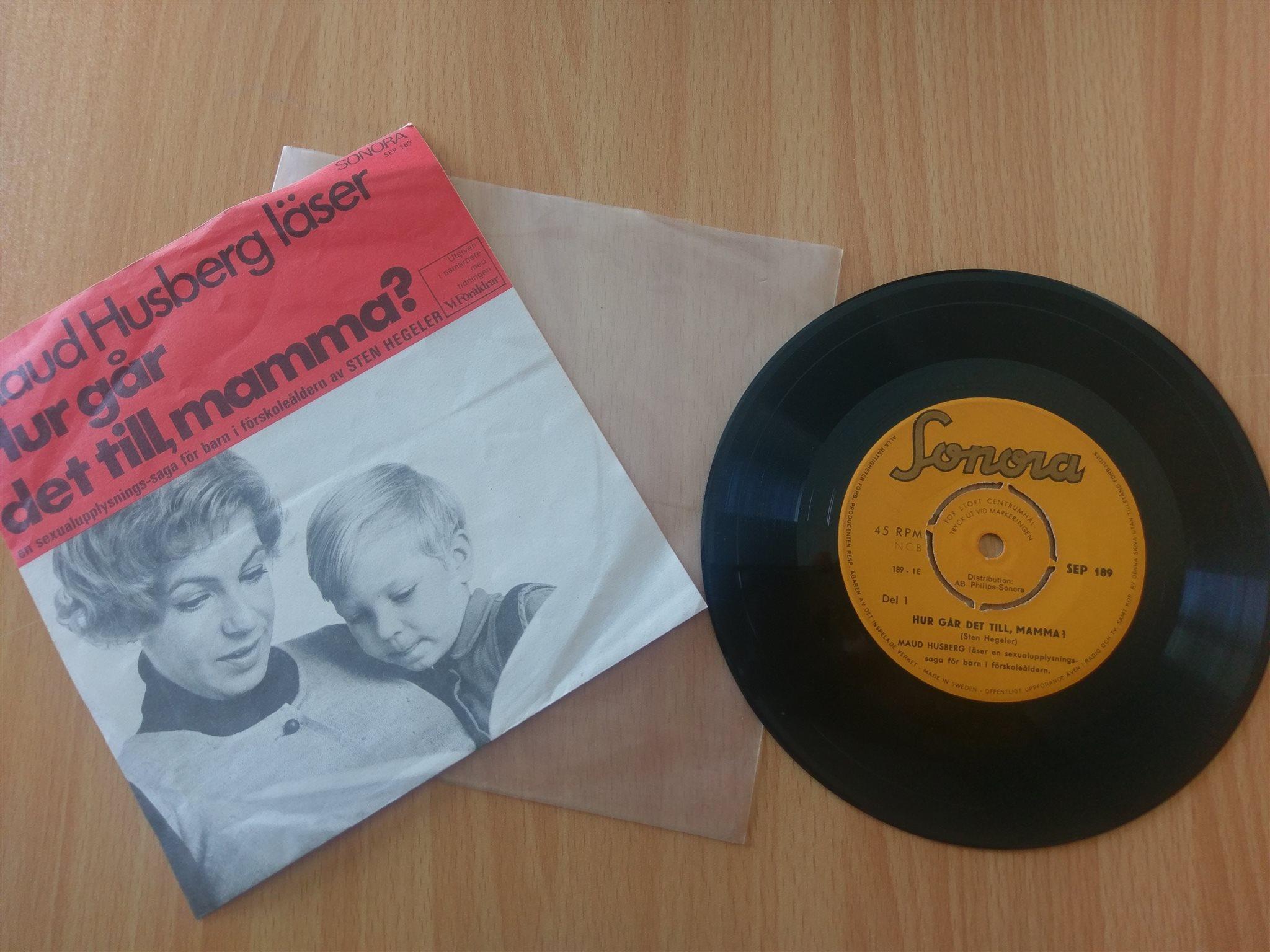 tal till mamma 70 år EP Vintage 70 tal