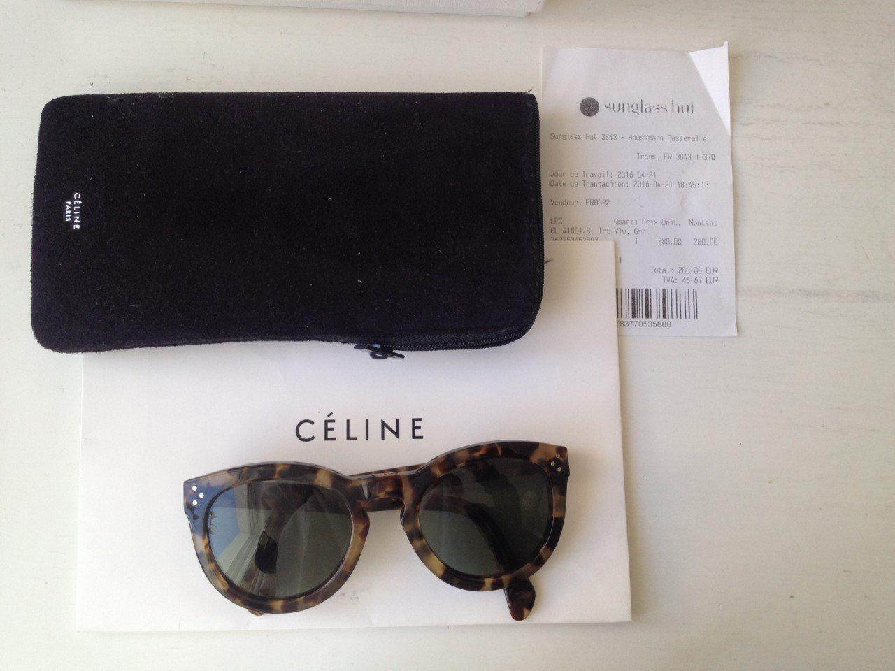 a220f99d24f Céline solglasögon modell preppy havana turtle (342989188) ᐈ Köp på ...