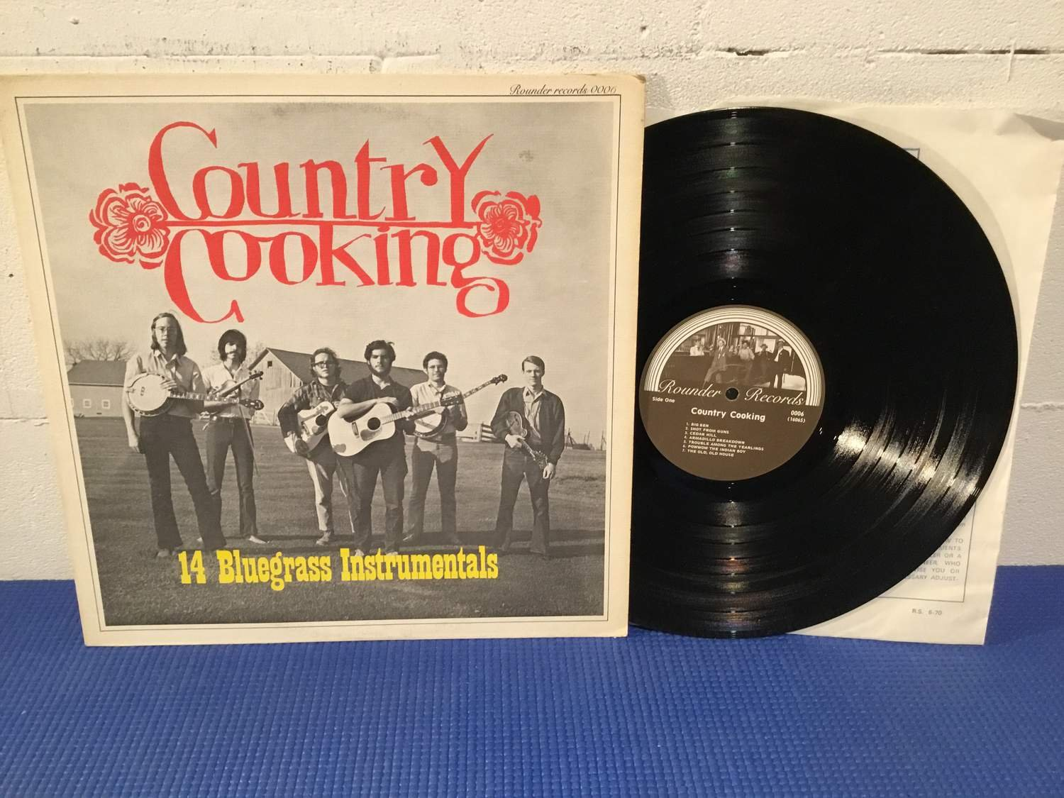 Country Cooking - 14 Bluegrass Instrumentals US Orig-71 !!!!!