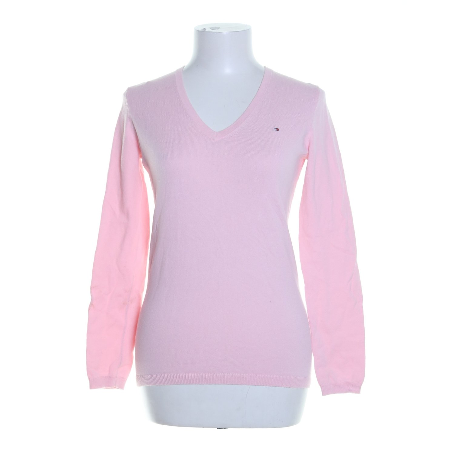 Tommy Hilfiger, Pullover, Strl: XS, Rosa, Bomull