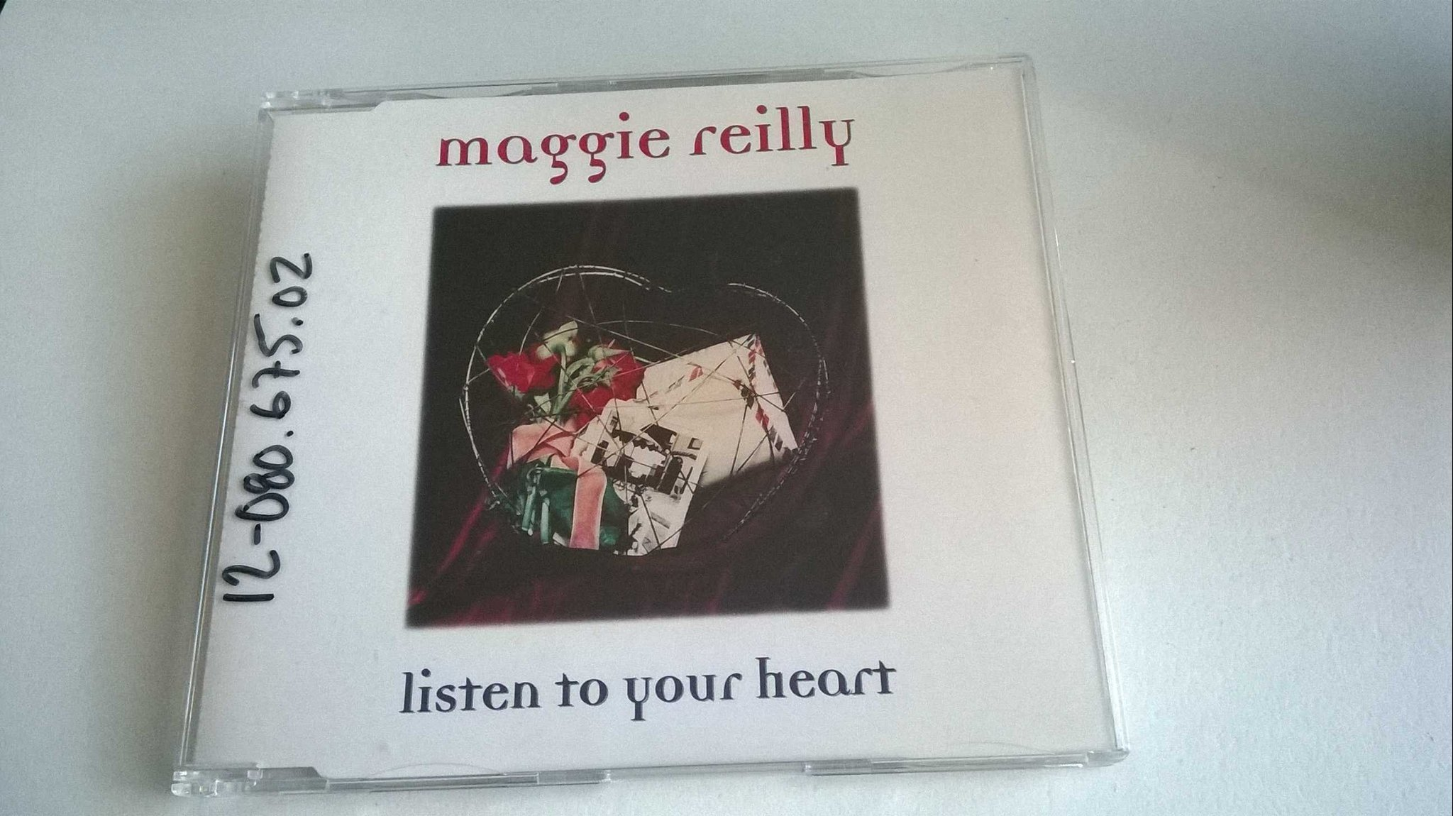 Maggie Reilly ?- Listen To Your Heart, CD, Single