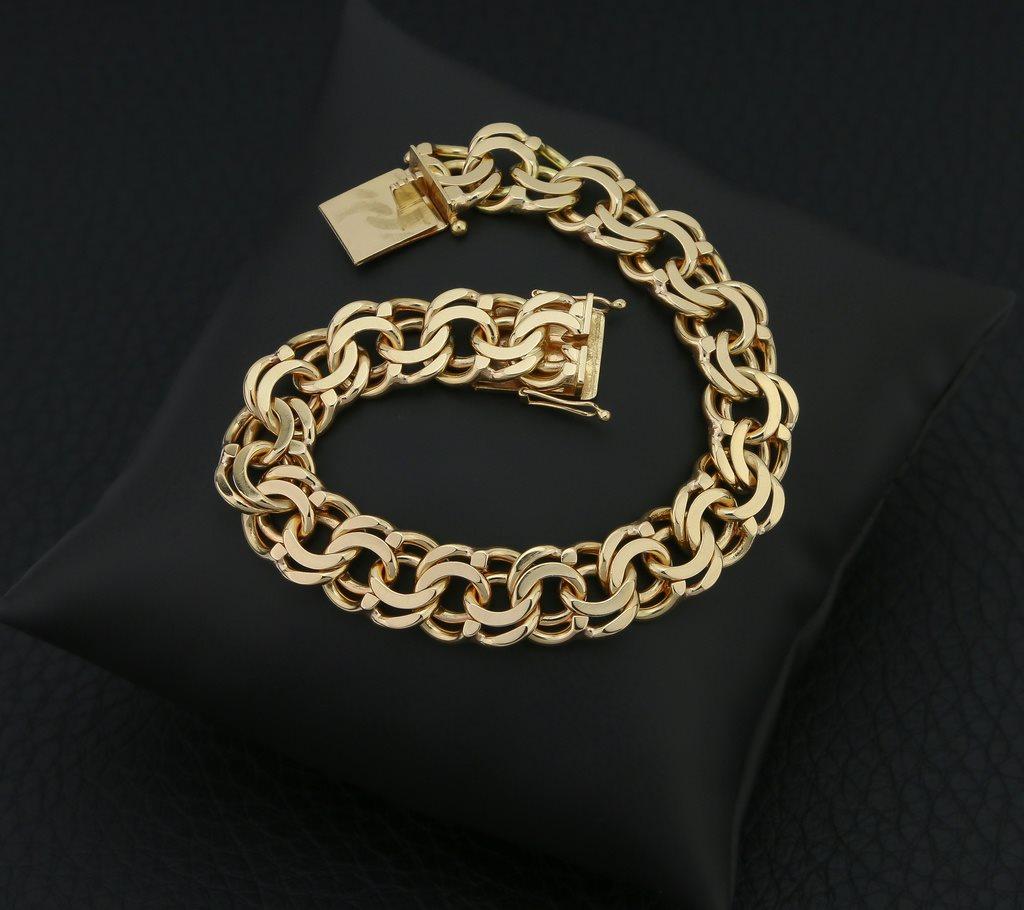 Bismarck Armband 18K Guld - A1216 (329815578) ᐈ OskmanDesignAB på ... cc2e6a1bf861f