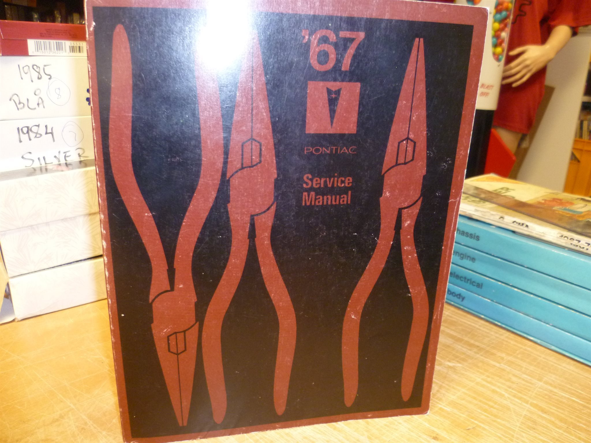 1967 PONTIAC , Chassis Service Manual , Verkstadshandbok , REPRO!!!!!